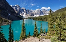 Lake Louise - Lac Moraine - Parc National de Banff