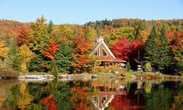 Indian Summer of Quebec Wilderness