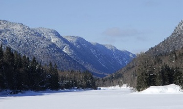 National parks of Quebec in Winter